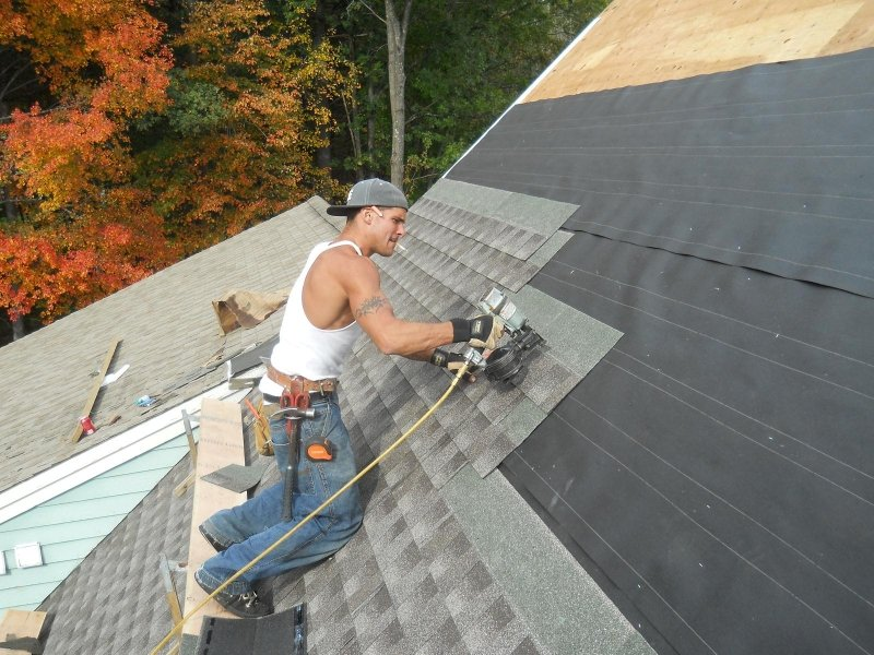 Roof Stripping Shingles